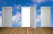 Doors opening